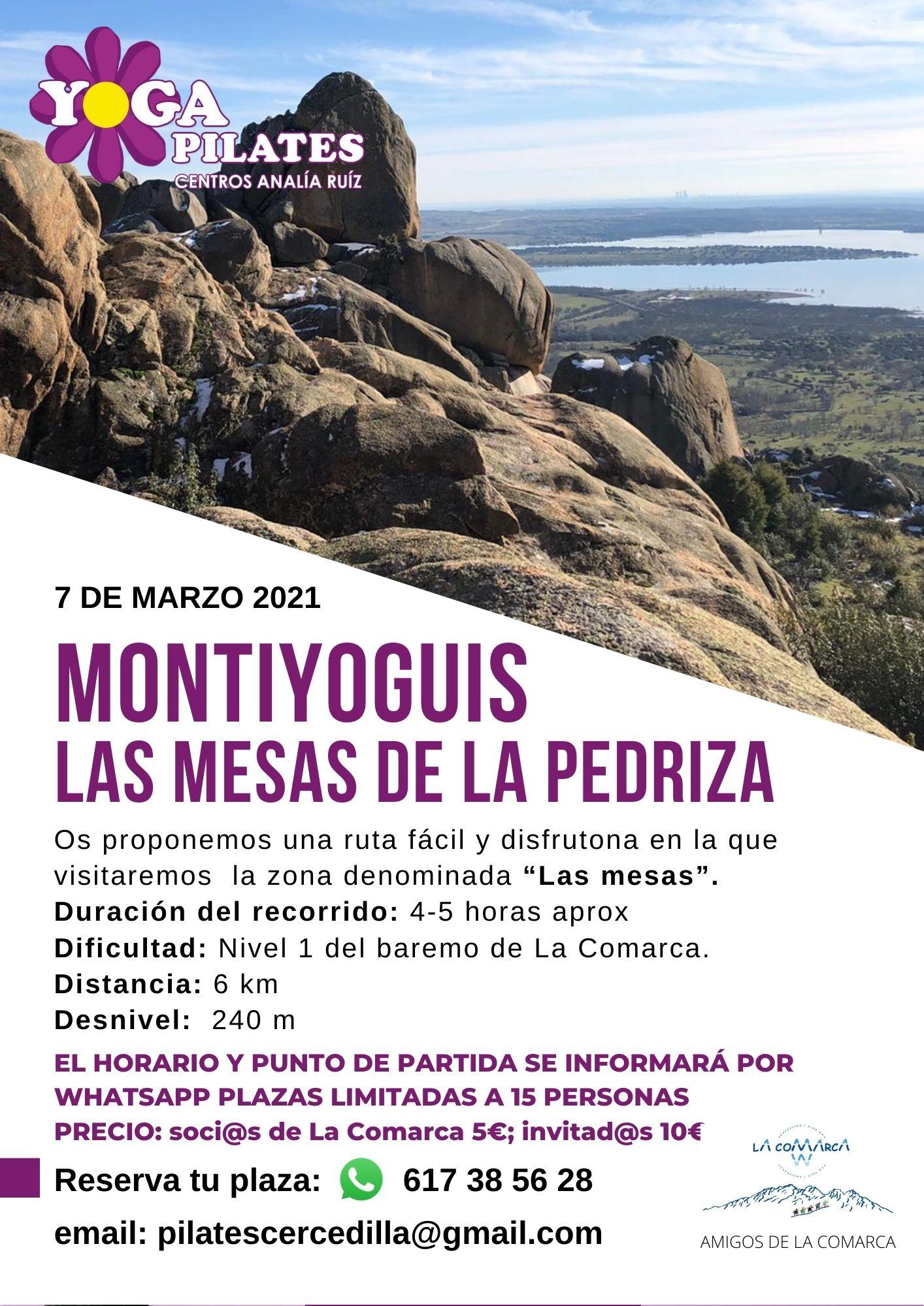 Actividades Febrero 2021 enn yogapilates guadarrama