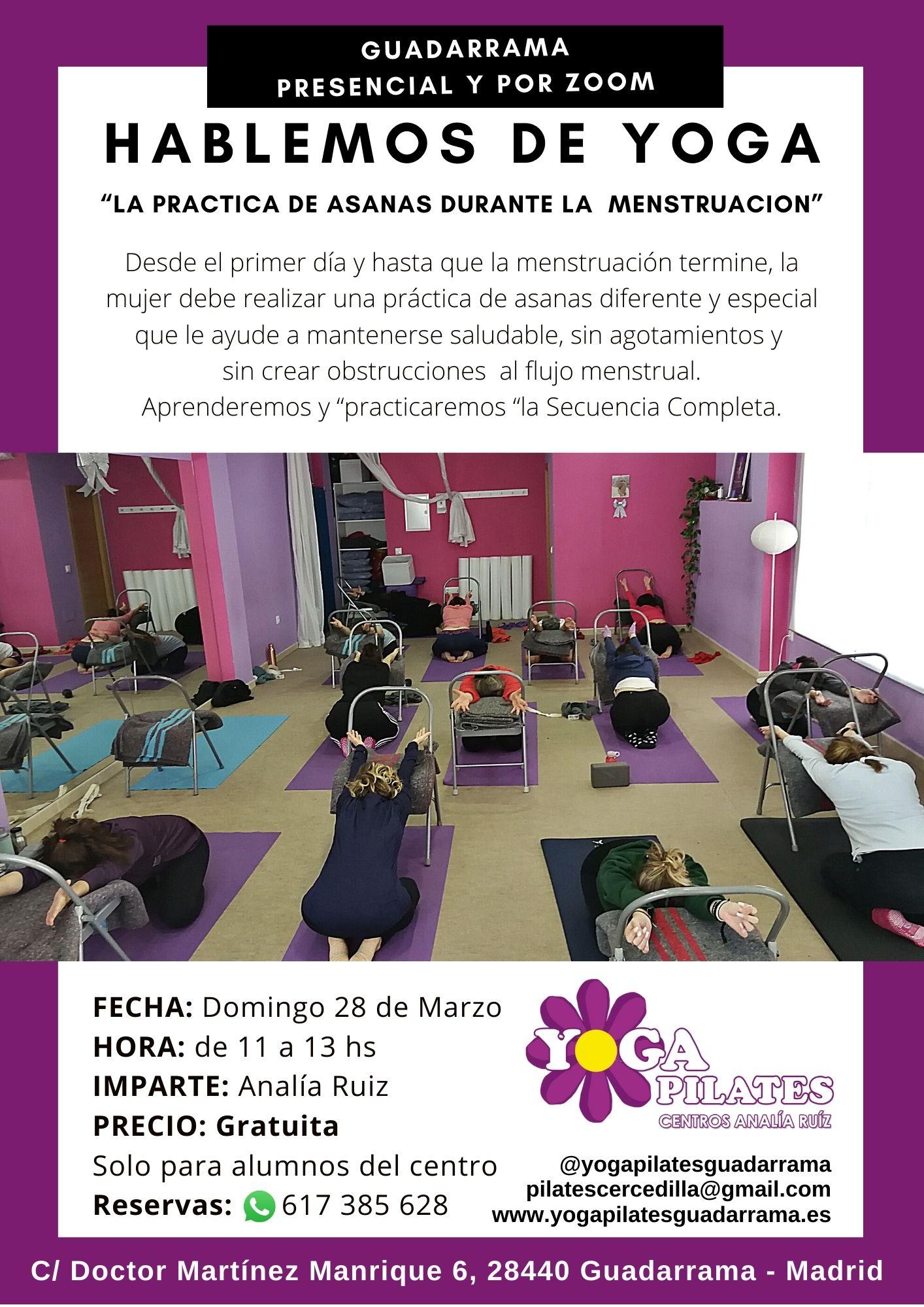 Intensivo de yoga en yoga pilates guadarrama